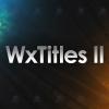 WxTitles II Cover III