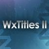 WxTitles II Cover V