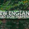 New England Road Sign Shapefiles