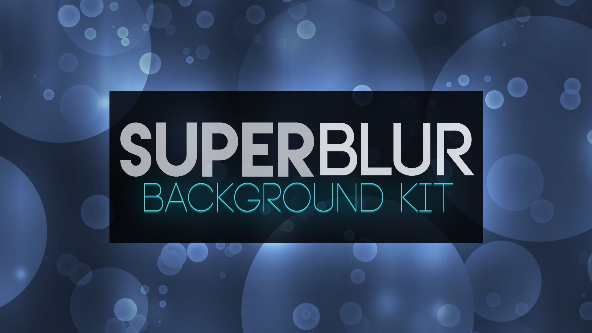 SuperBlur Background Kit