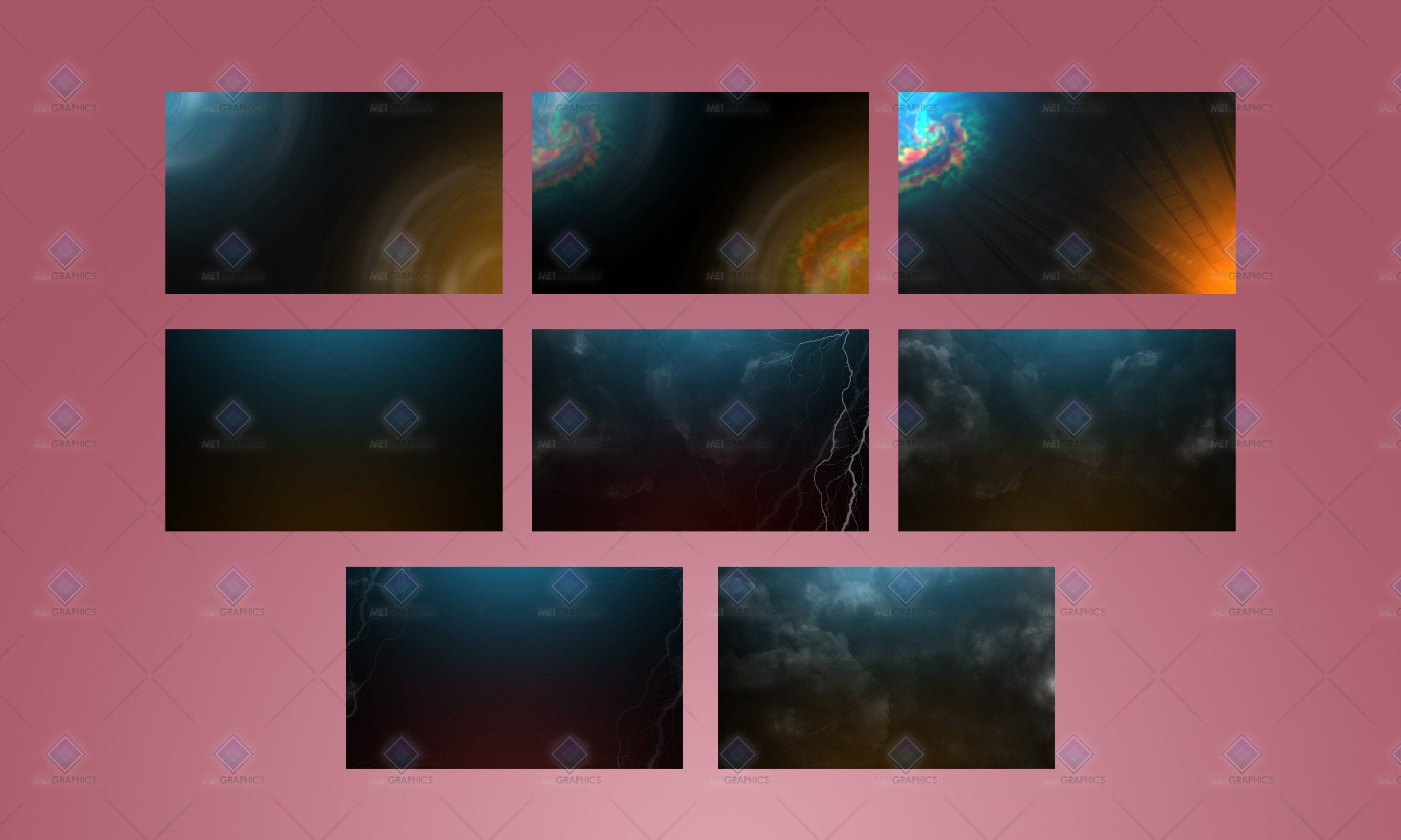 severe backgrounds